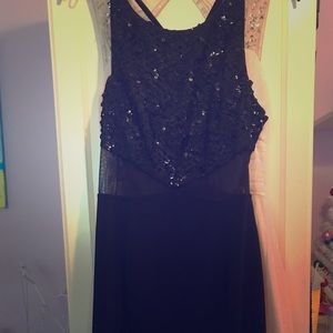 Black Betsy and Adam formal gown